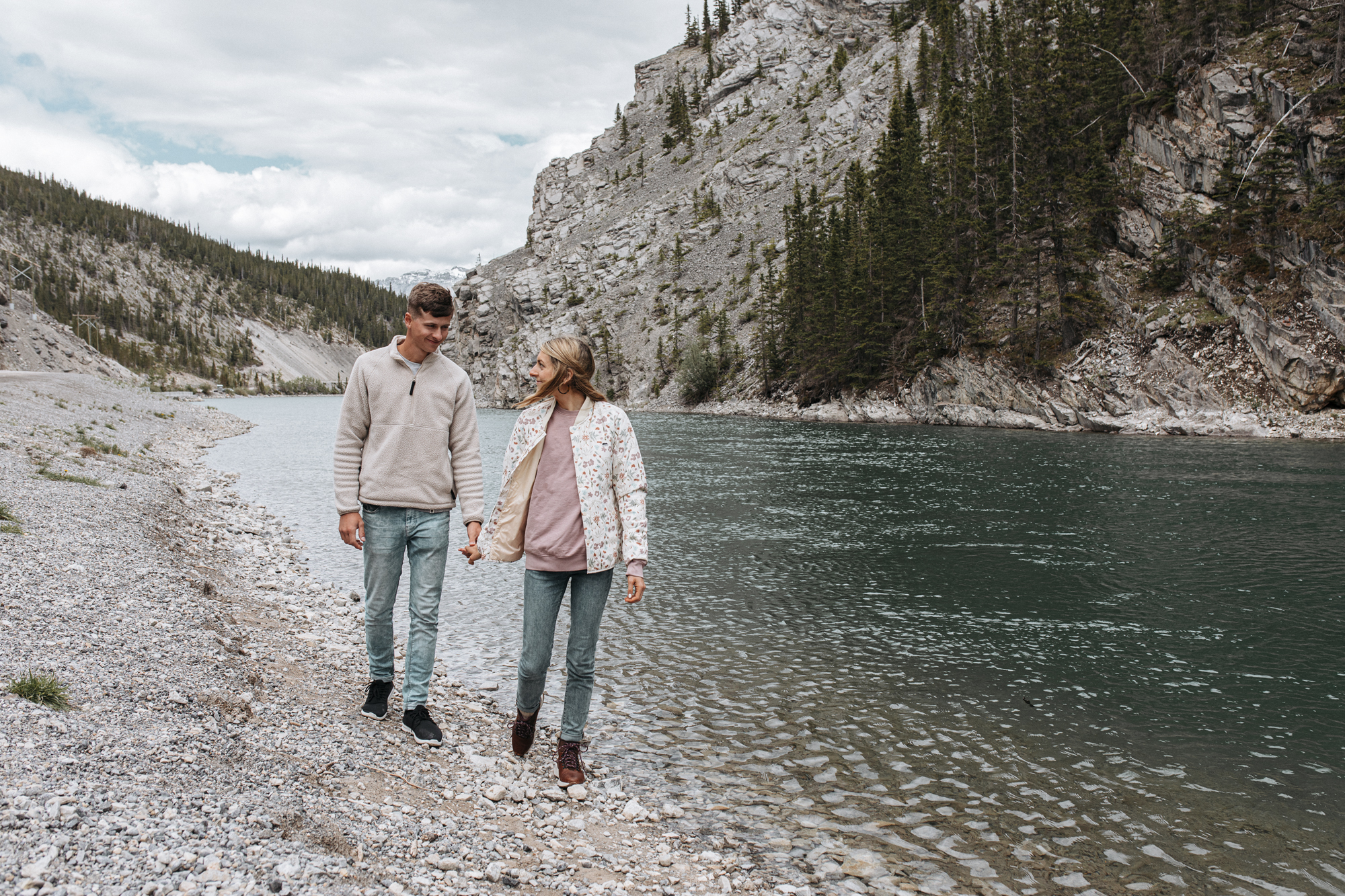 Hike or walk through Lake Louise and Banff, Canada with this travel guide from creative lifestyle blogger emily r hess