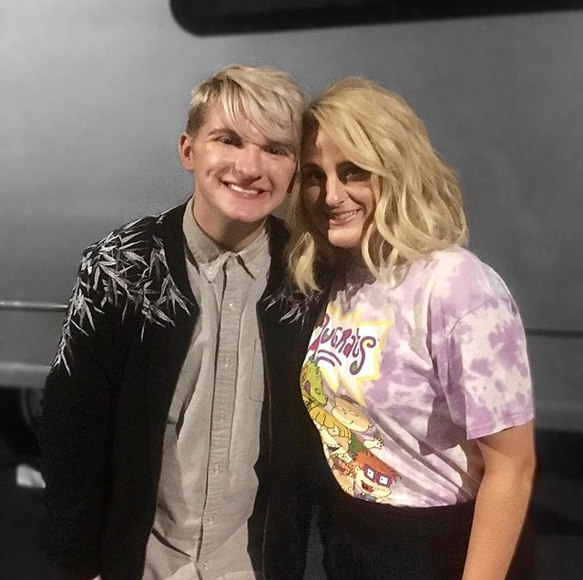 we're giving you sharpay & ryan REALNESS in this photo and I'm living for it.... 😅 // thank you for everything, meghan 💕