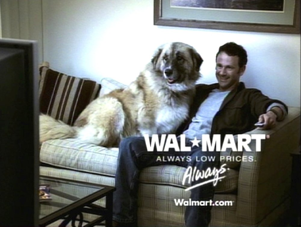 Wal Mart commercial
