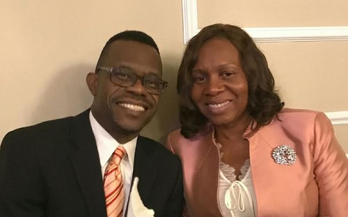 Pastor and First Lady Straker