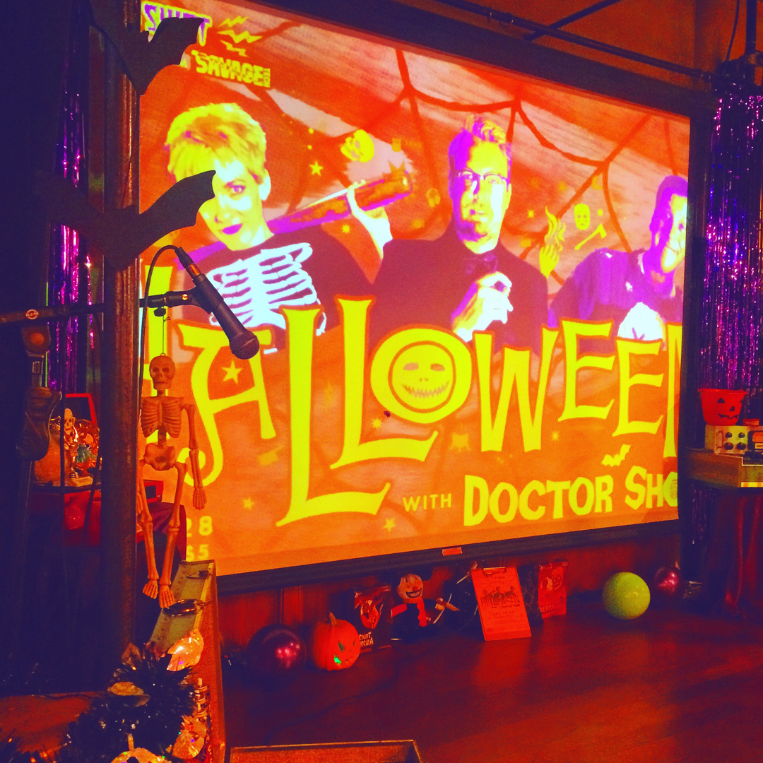 stage design -  Halloween with Doctor Show