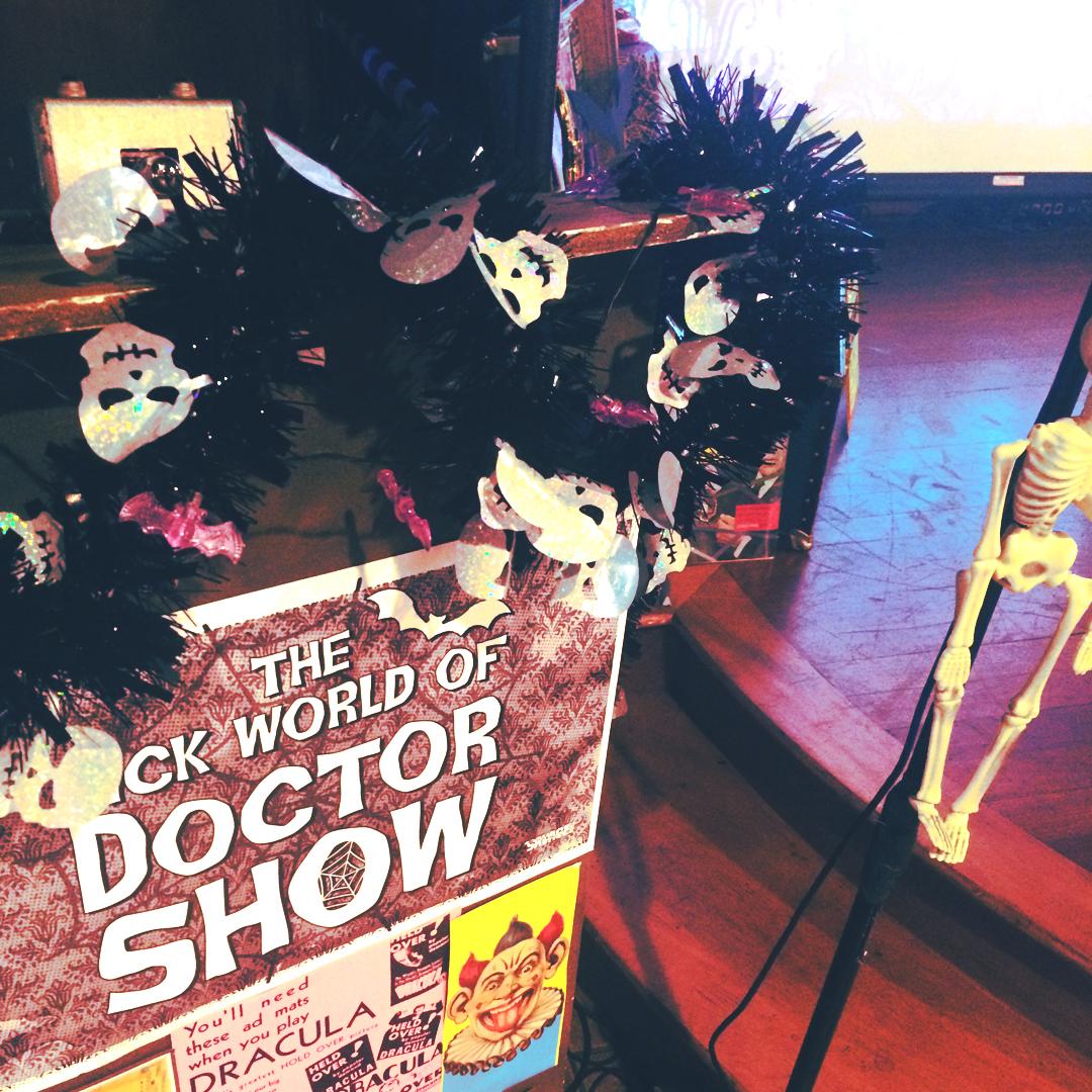 stage decor -  Pajama Party Spooktacular