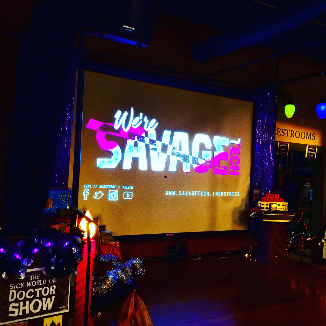 stage design -  Doctor Show's Holiday Spooktacular