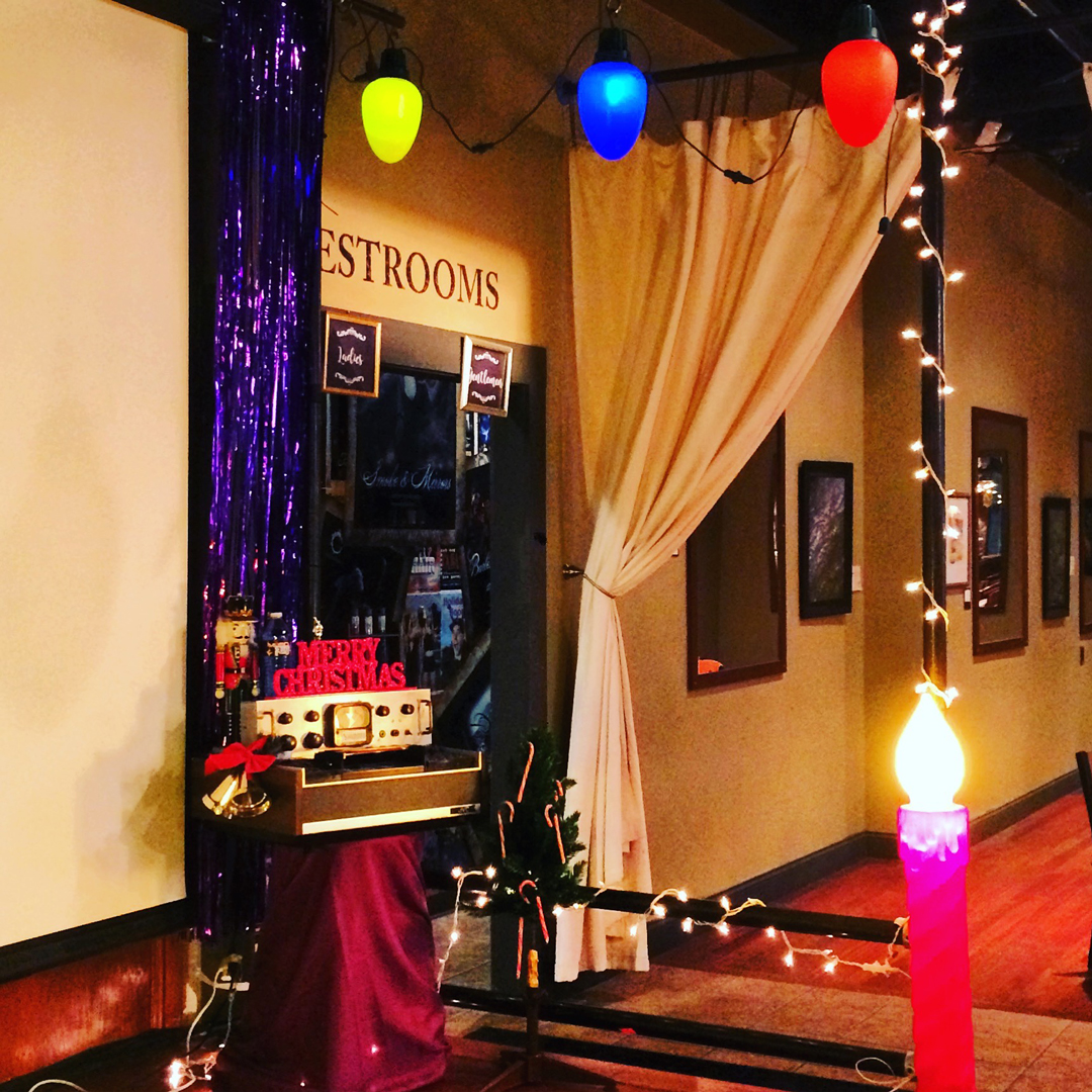 stage decor -  Doctor Show's Holiday Spooktacular