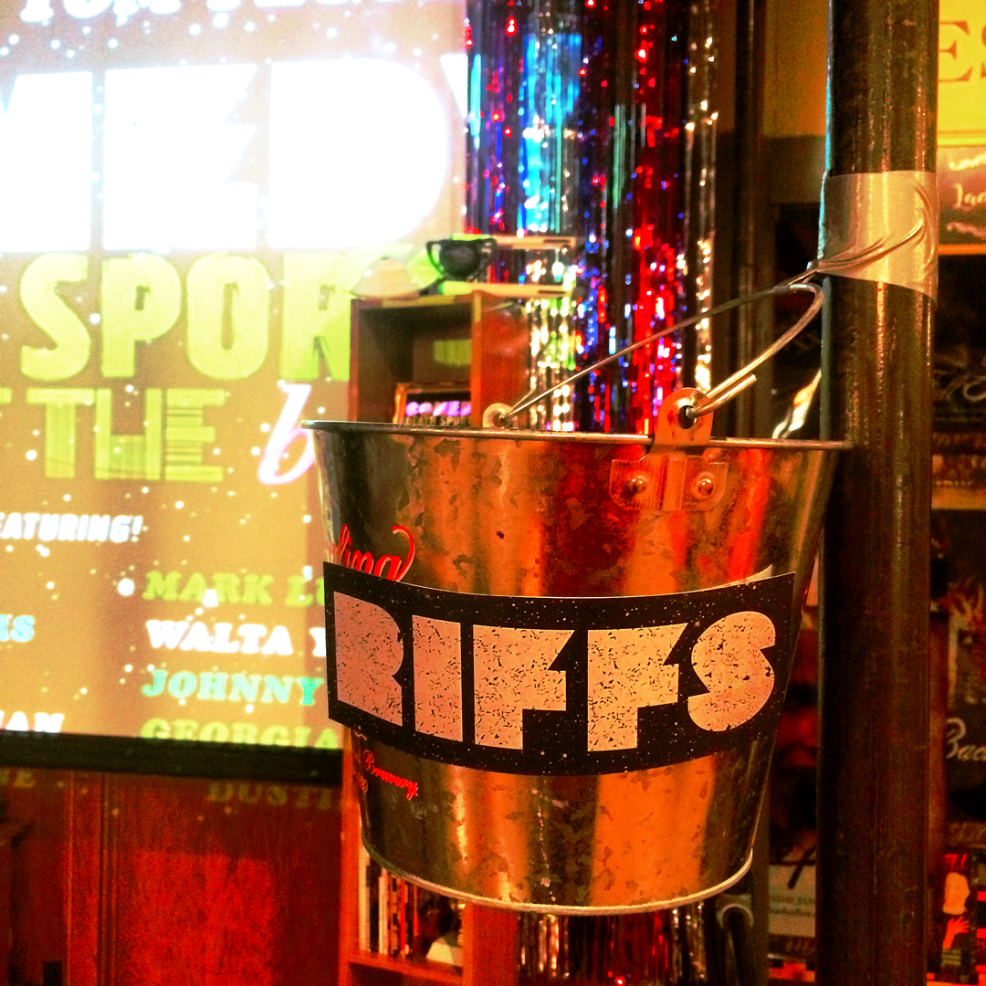 stage decor -  Comedy Death Sports: Panic! at the Bistro