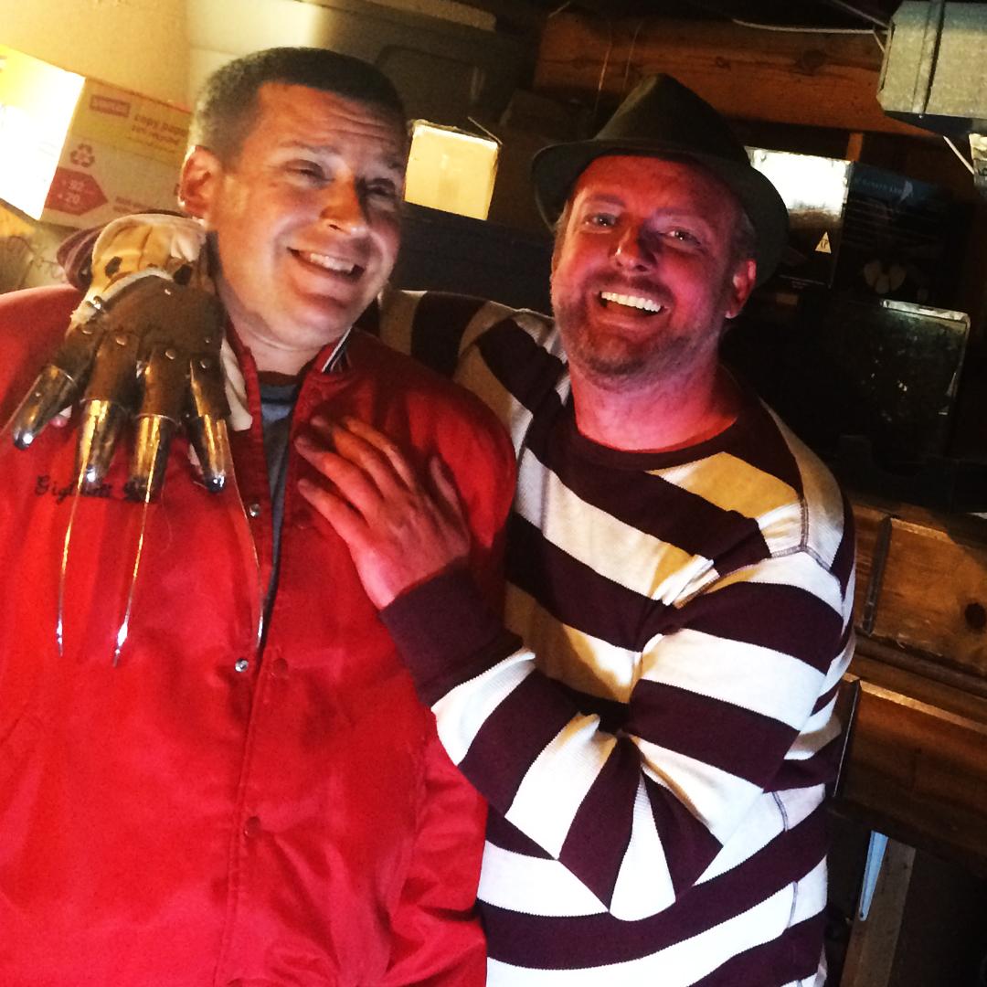 David and Sharp Hand Joe