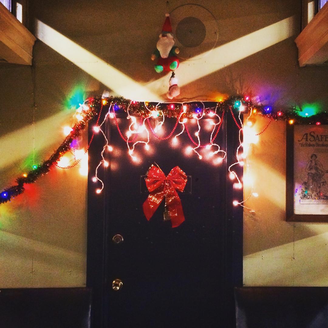 Passenger car set decor   Killer Raccoons! 2! Dark Christmas in the Dark!