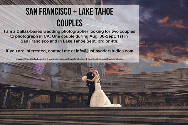 Who lives in San Francisco or Lake Tahoe! Share and tag your friends!