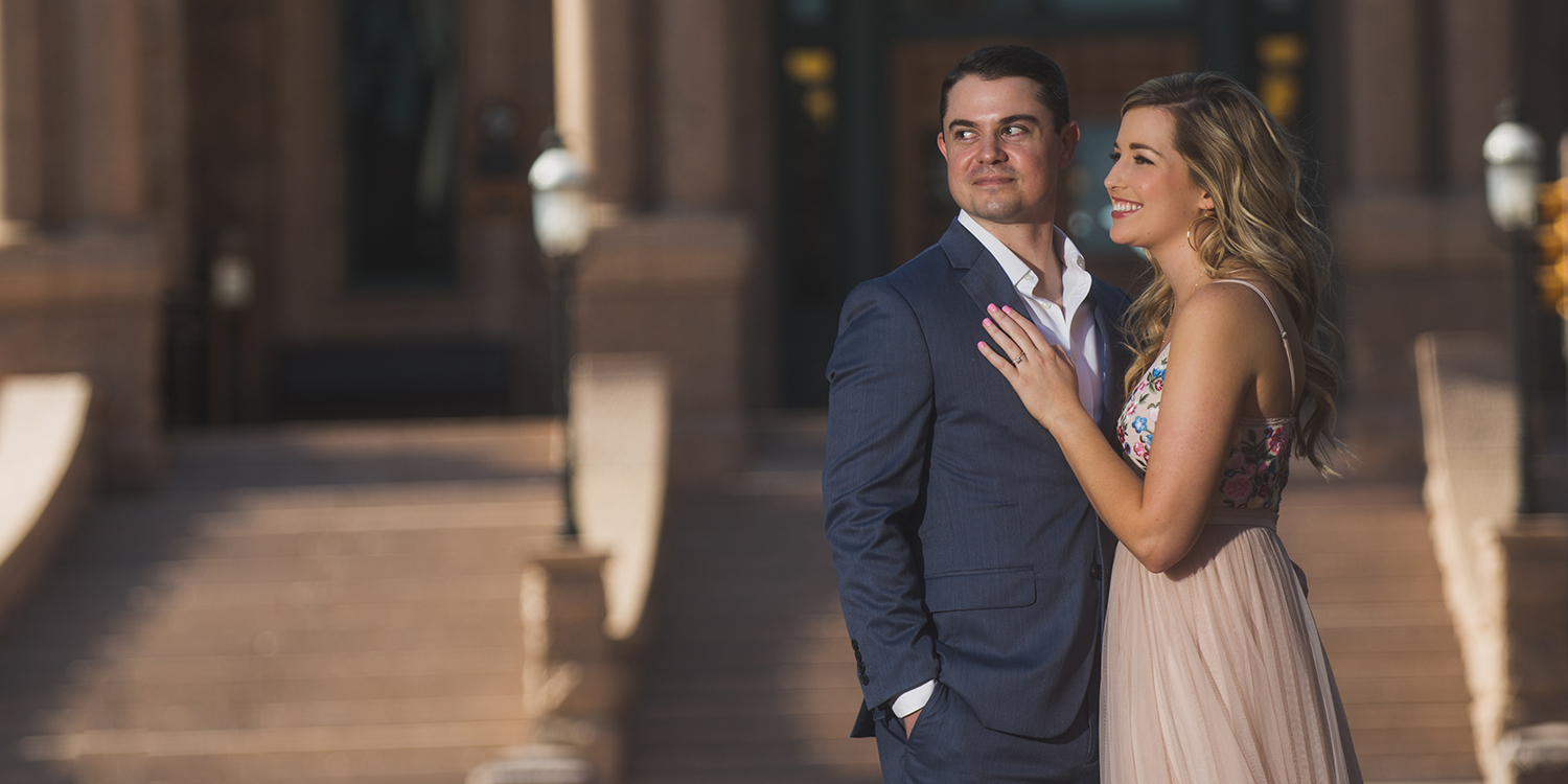 Addie + Jacob - Ft. Worth Engagement Session