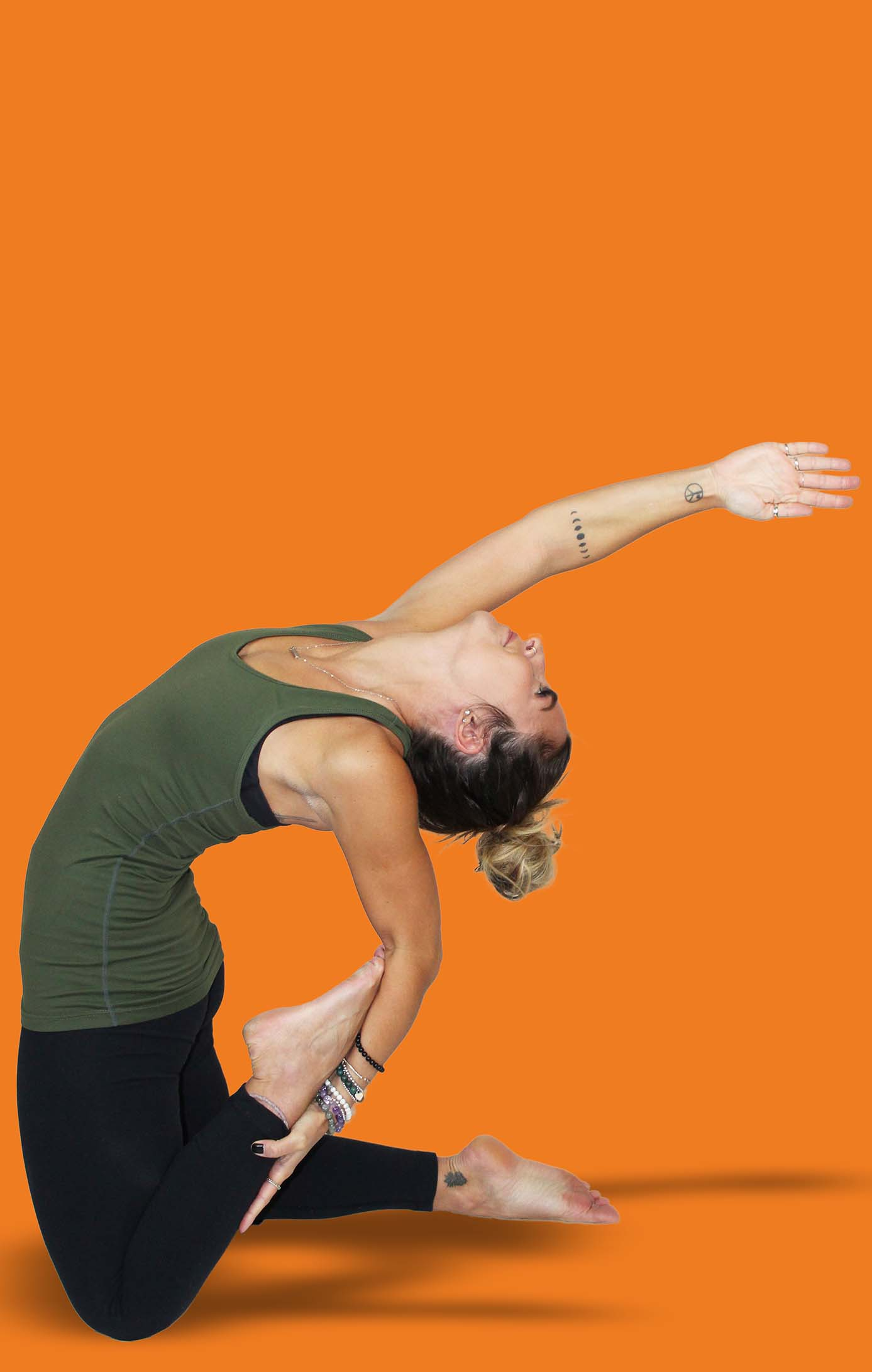 HOT YOGA  Reap the benefits of Hot Yoga and Infrared Heat by sweating out toxins, gaining flexibility & balance, improving cardiovascular health, relieving stress, reducing pain & stiffness, burning calories, and so much more! We have classes suitable for all levels.