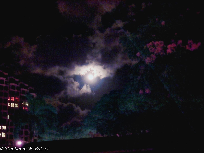 Moon Over Honolulu Art Museum