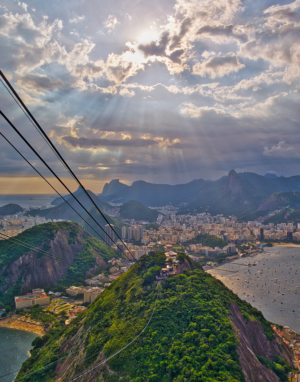 Rio from Sugarloaf