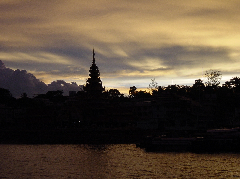 Kawthoung Sunset