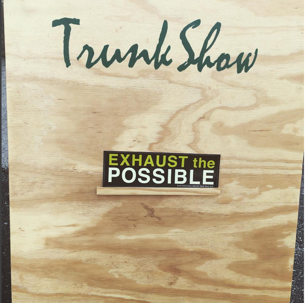 Trunk Show, 2016