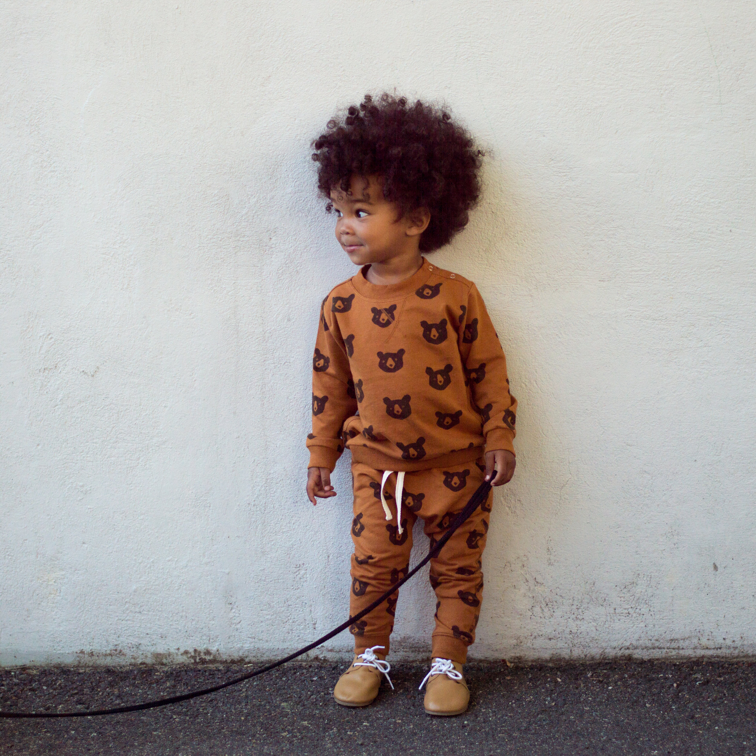 sweater & pants:  rylee & cru  from  wee mondine   shoes:  piper finn footwear