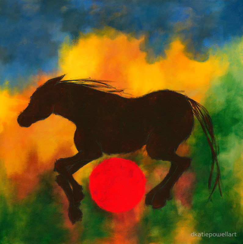 Horse with Red Ball.JPG