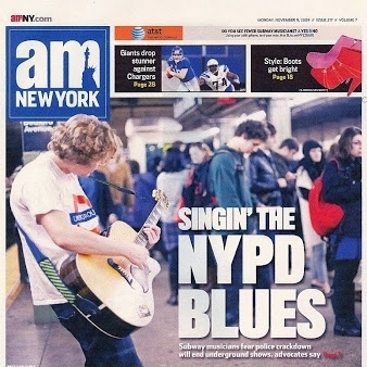cover of AM NY November, 2009