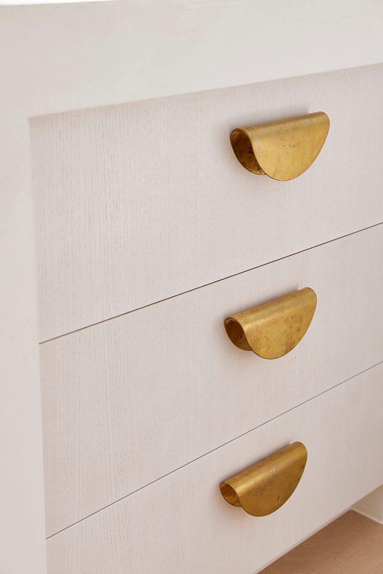 Brass Drawer Cupboard Handle Studio Cj Anderson