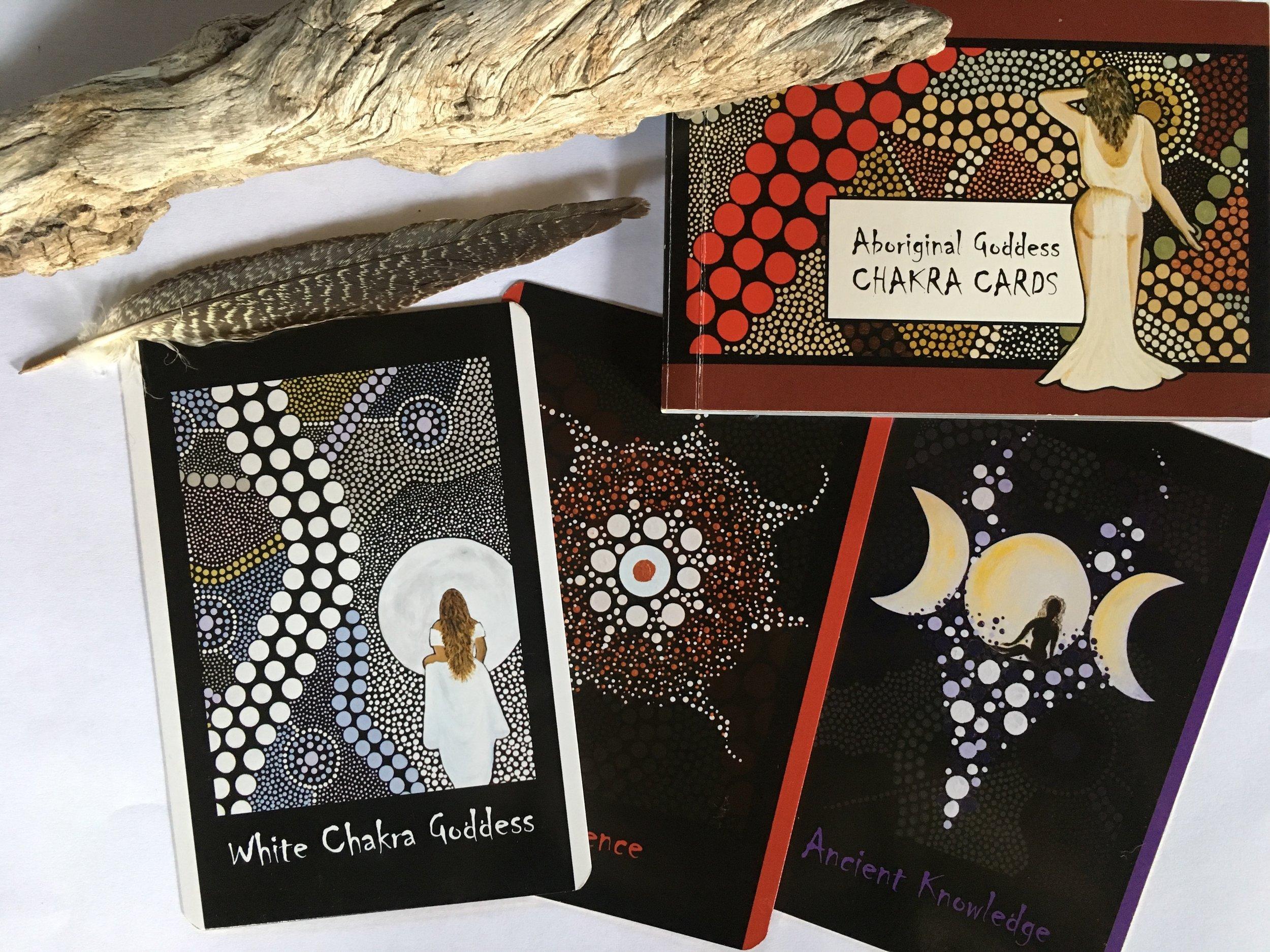 Aboriginal Goddess Chakra Cards