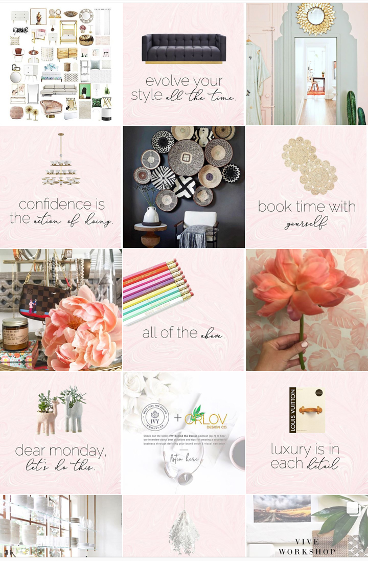 CURATE YOUR COMPANY'S INSTAGRAM VISUAL VOICE - FOUR POPULAR GRID STYLES TO ROCK YOUR OWN STYLE