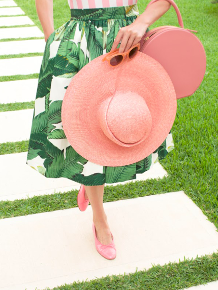 currently loving… - Pink & Green Color Way
