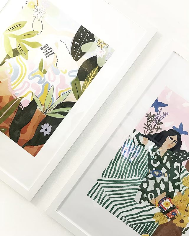 The Spring @causebox was my 1st ever box subscription purchase (surprisingly) and it was the beautiful box illustration by @aljahorvat that caught my eye 🌿 and then the gorgeous clutch by @glassladder 🌸 I loved my experience so much that I went on to purchase 3 of Alja's pretty prints from @society6 for my family room 🌿 My lil 👧🏻 & I love them so much and the artwork give us smiles & happiness every day • Peep our Story to see where these large prints live in my home 🏡 • • • #artist #aljahorvat #love #inspiration #causebox #design #create #women #happy #smile #family #flashesofdelight #sodomino #yes #flatlay #flatlaytoday #mydomaine #parentsmagazine #heymama #dreamersanddoers