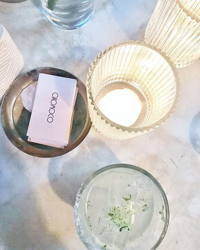 Slips down easy 🌿 • #oxomoco #newyork #greenpoint #cocktails #dinner #cheers #yum #style #travel #hotel #flashesofdelight #foodie #newyorkcity #tasty