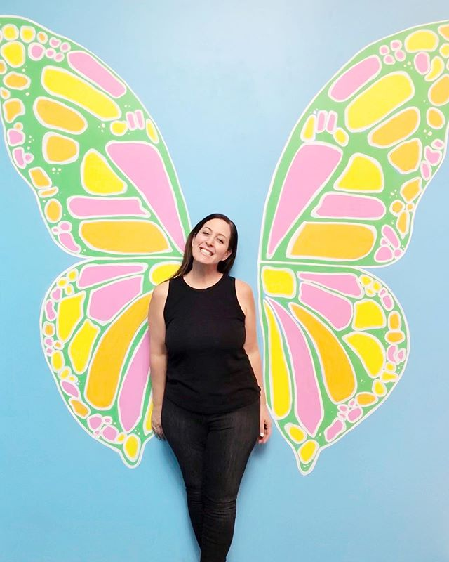 A rare photo of.....me! 🦋 LIfe is good & happy and that is very happy to say & even more happy to mean 🥰 @wearehappyplace #happy