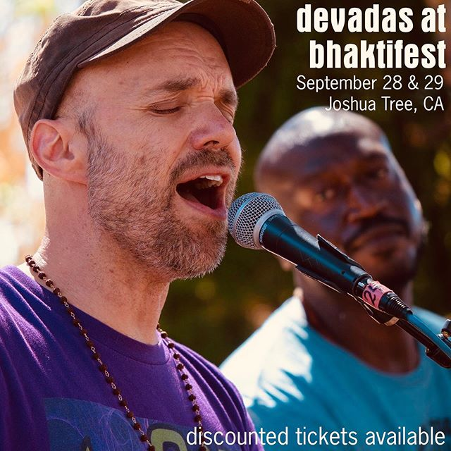 @ammasdevadas is returning to Bhaktifest this September, offering kirtans and a workshop. Email him at devadas@criptext.com if interested in discounted tix.