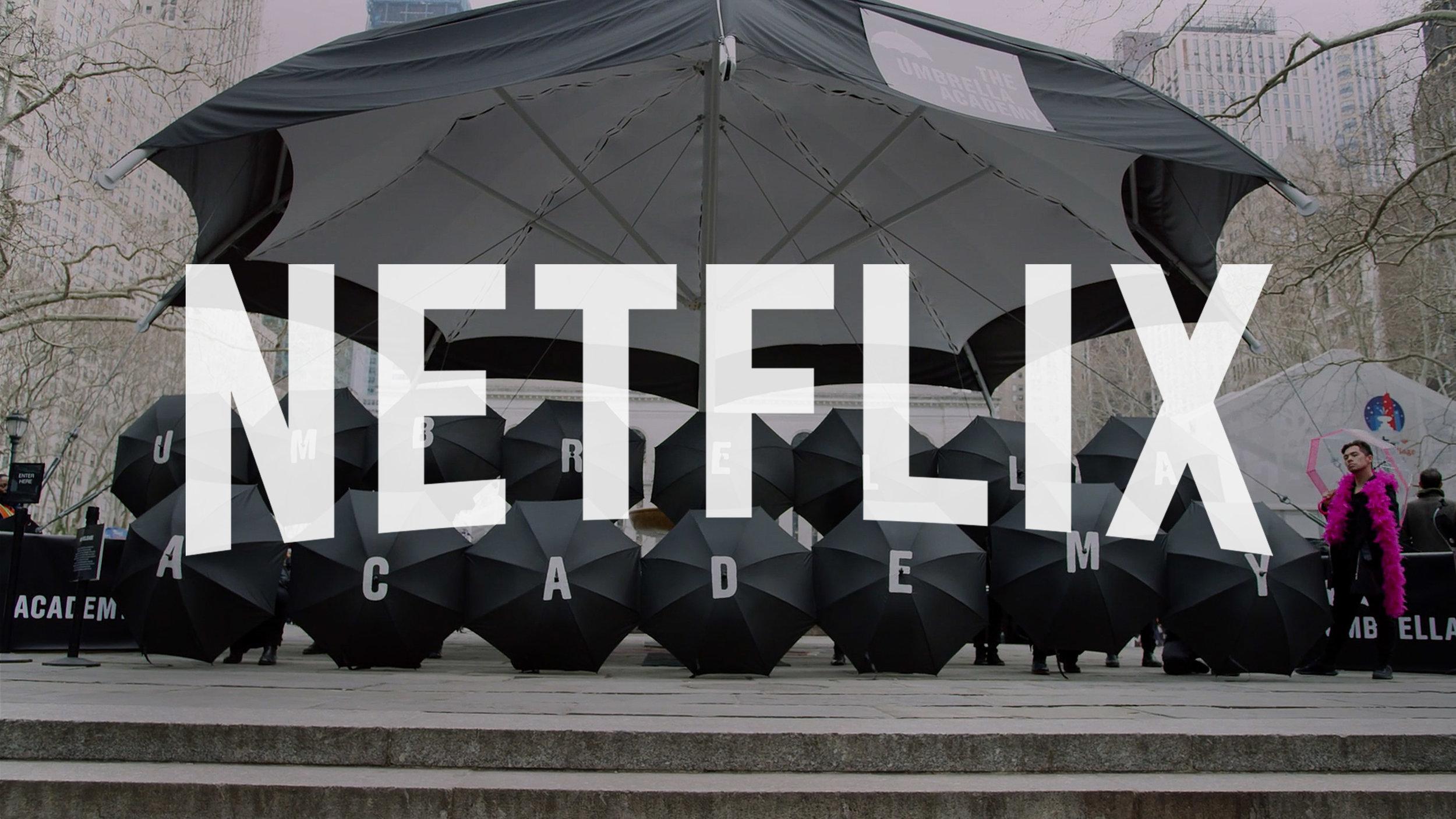 "Netflix ""Umbrella Academy Wedding"" - Social Campaign"