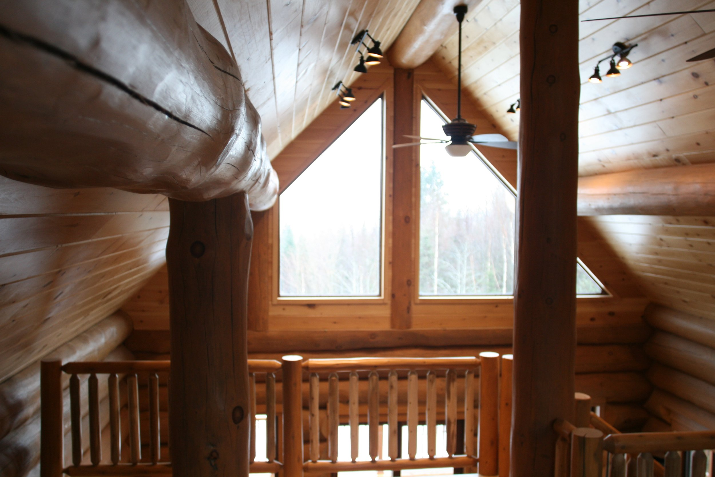 Log cabin loft