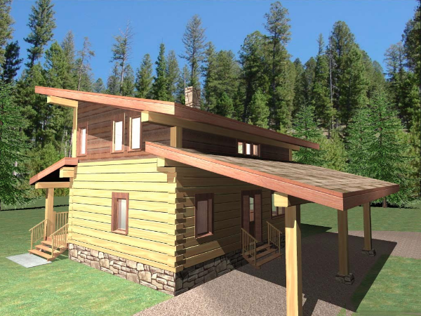Log-Home-Made-In-Ontario-Canada-2-storey Design-Facing-Side-And-Back-Of-House-The-Amarok-Cabin.png