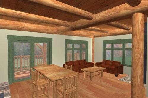 Log-Home-Built-In-Ontario-Canada-Interior-Facing-Dining-Area-Living-Room-Sitting-Area-With-Windows-Door-And-Hardwood-Floors-The-Fraser-Cabin-Square-Timber-Option.jpg