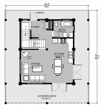 Ontario-Log-Home-Sales-Floor-Plan-For-The-Ground-Level-Of-The- Fraser-Log-Cabin-Homes (2).jpg