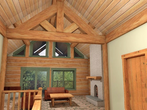 Log-Home-Built-In-Ontario-Canada-Interior-Facing-Living-Room-Sitting-Area-With-Windows-Door-And-Stone-Fireplace-The-Barrier-Cabin-Log-Homes-Square-Timber-Option.jpg