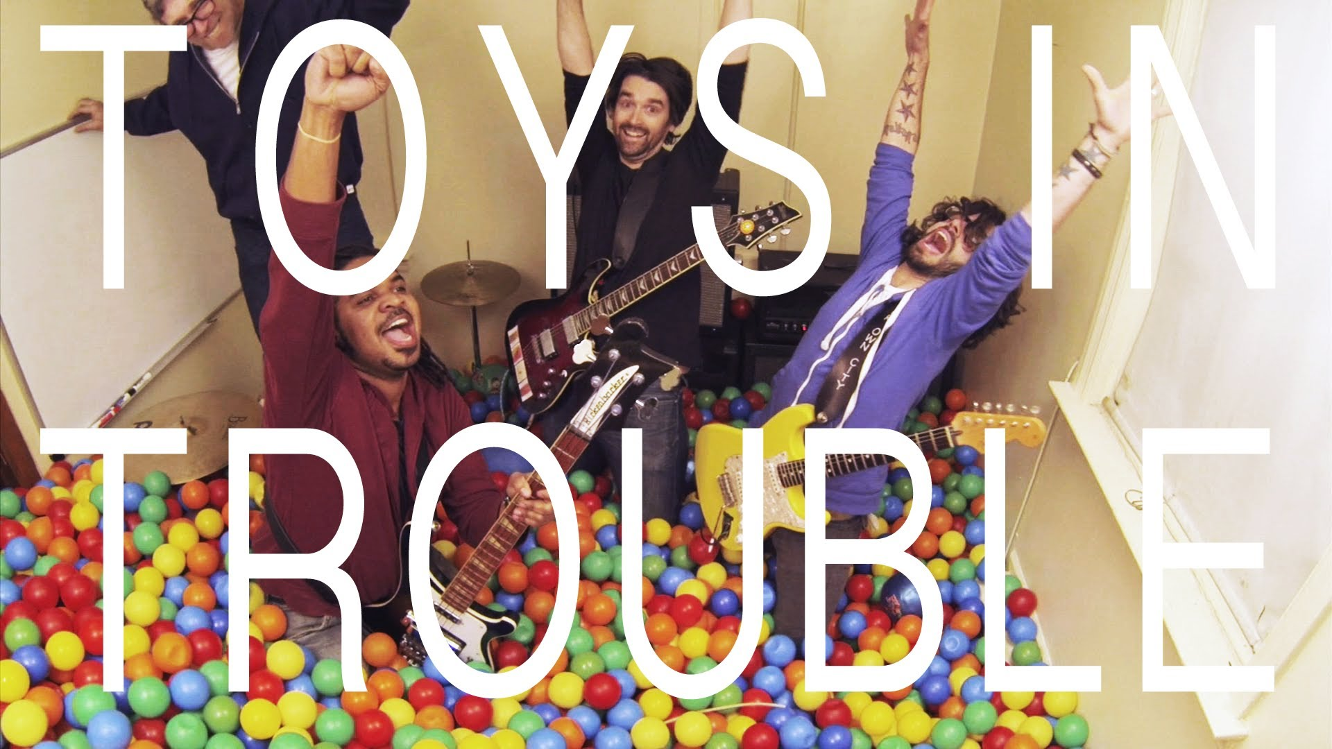 Kevin Bova & Jim Twerell - Members of Toys in Trouble