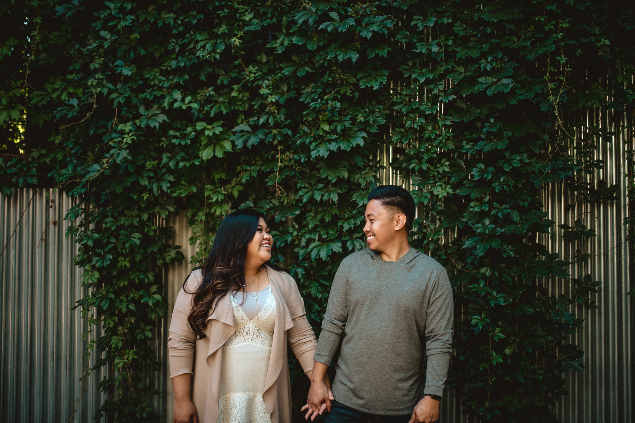 gastown engagement session