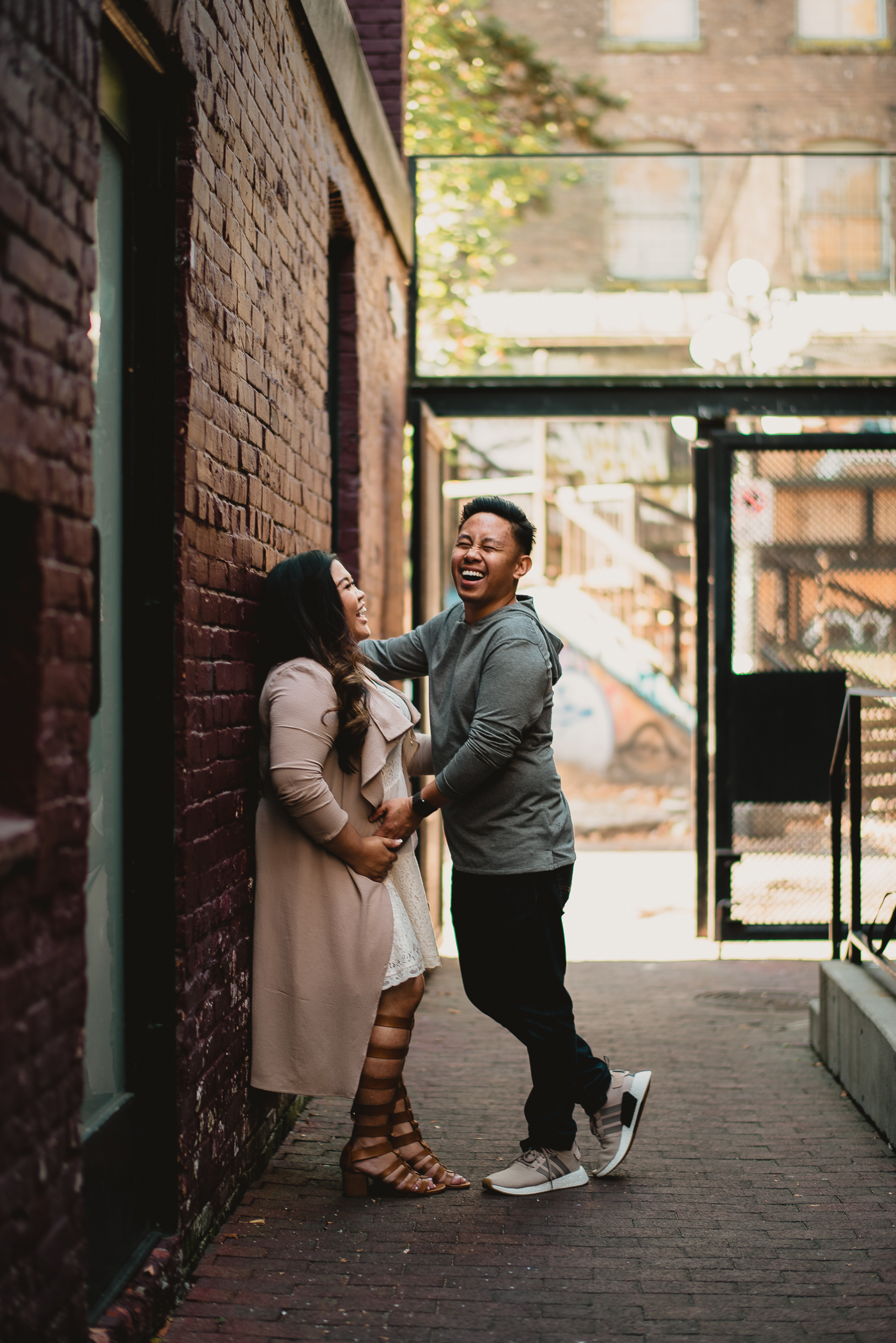 gas town engagement session