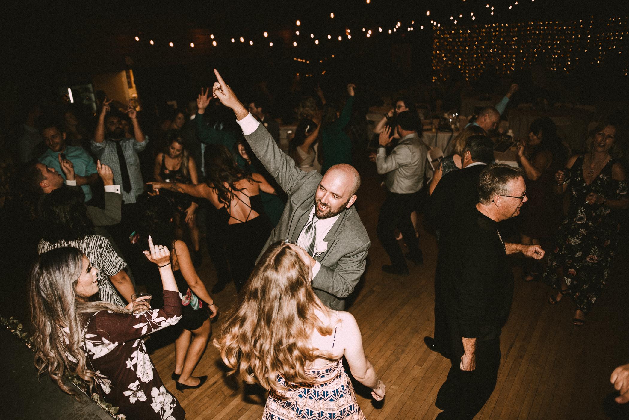 dance floor flash photos vancouver wedding photographer