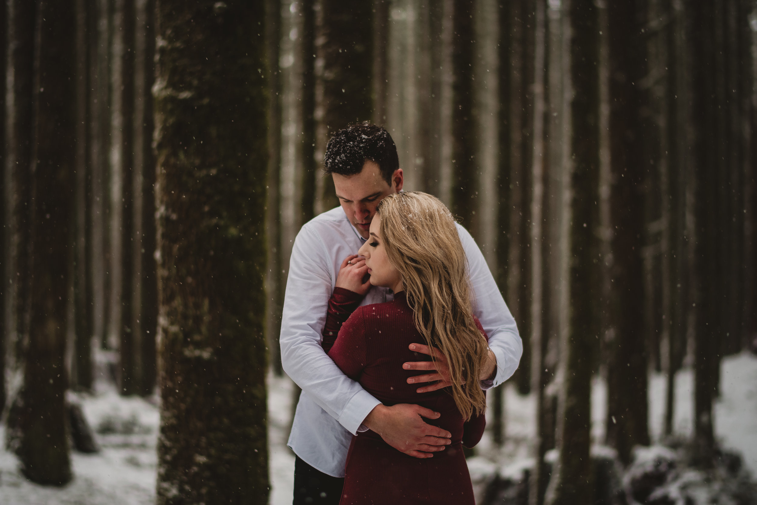 Golden Ears Park winter Engagement session - Vancouver Wedding and elopement photographer