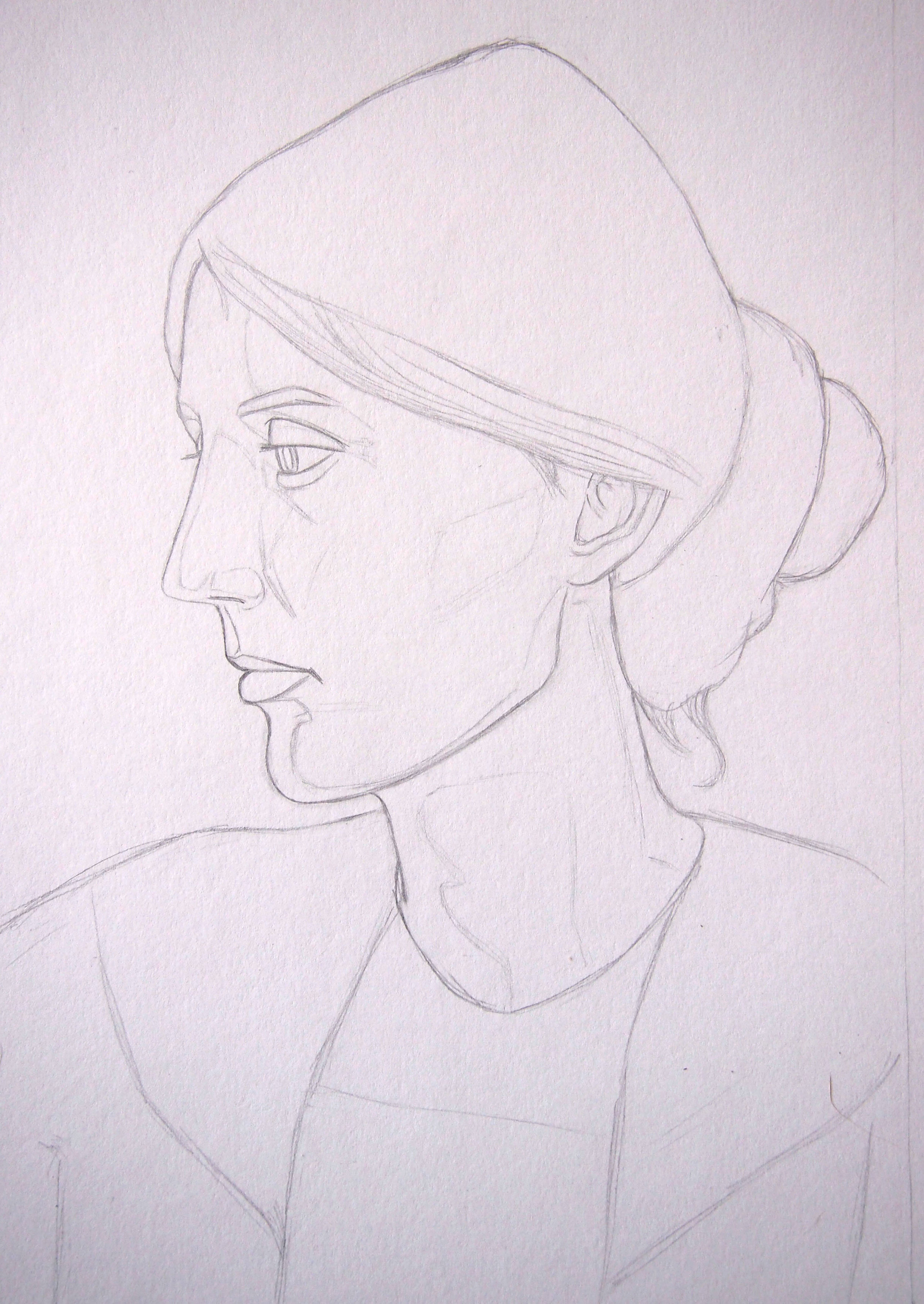 Starting anew on Virginia Woolf's portrait