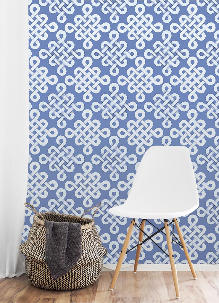 Wallpaper Chinese Garden Chinoiserie Collection by Jessie Tyree