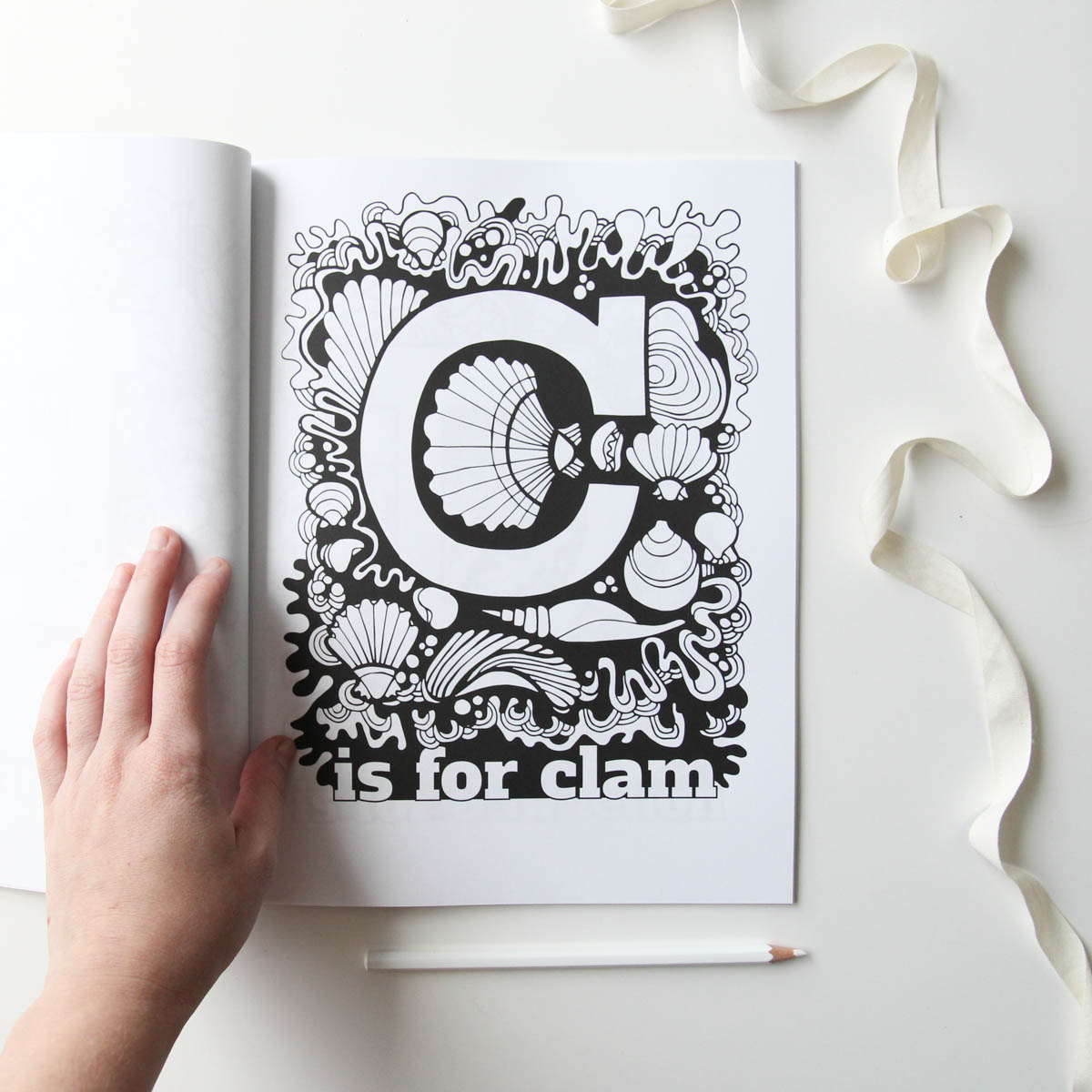 A is for Acorn ABC Coloring Book by Jessie Tyree Jenness