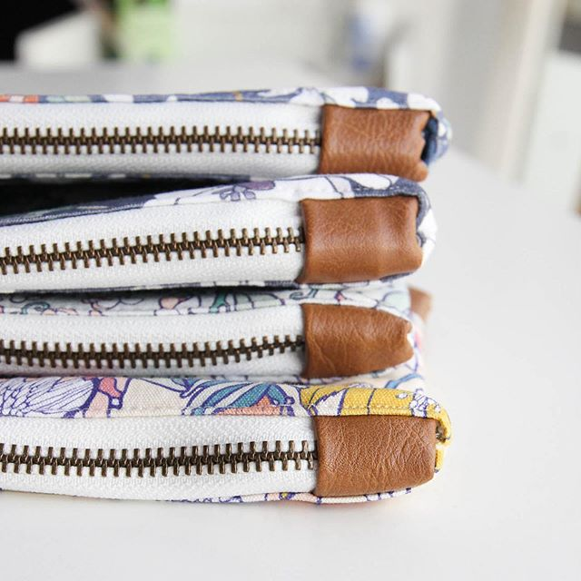 """Thank you all for the excitement on our zip pouch release! I'll be sharing all 5 of the styles over the next few weeks, and for the curious ones among you, details from behind-the-scenes are under the """"zip pouches"""" and """"textiles"""" tabs in our stories! . . I've never made a product like this so we are in uncharted waters for Root & Branch... 🌊 It feels like every business decision is a risk when you're growing, but I'm thankful for the opportunity to learn, take risks and grow ✨"""