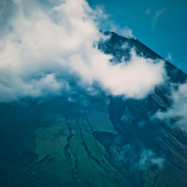 Volcano   Concepción in Nicaragua,  the country that inspired ESTELI BODY