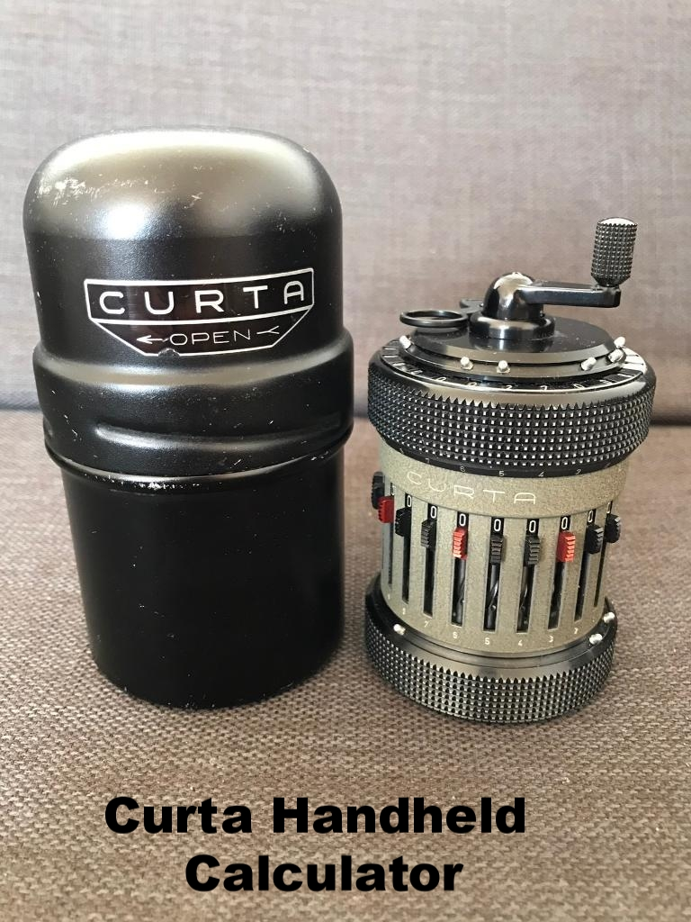 Curta Stepped Drum Calculator