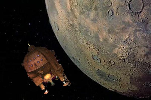 Void Explorer in Lunar Orbit - STEMpunk