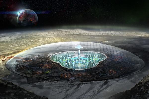 The Alien Moon City