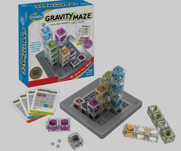 Marble Gravity Maze - from Thinkfun