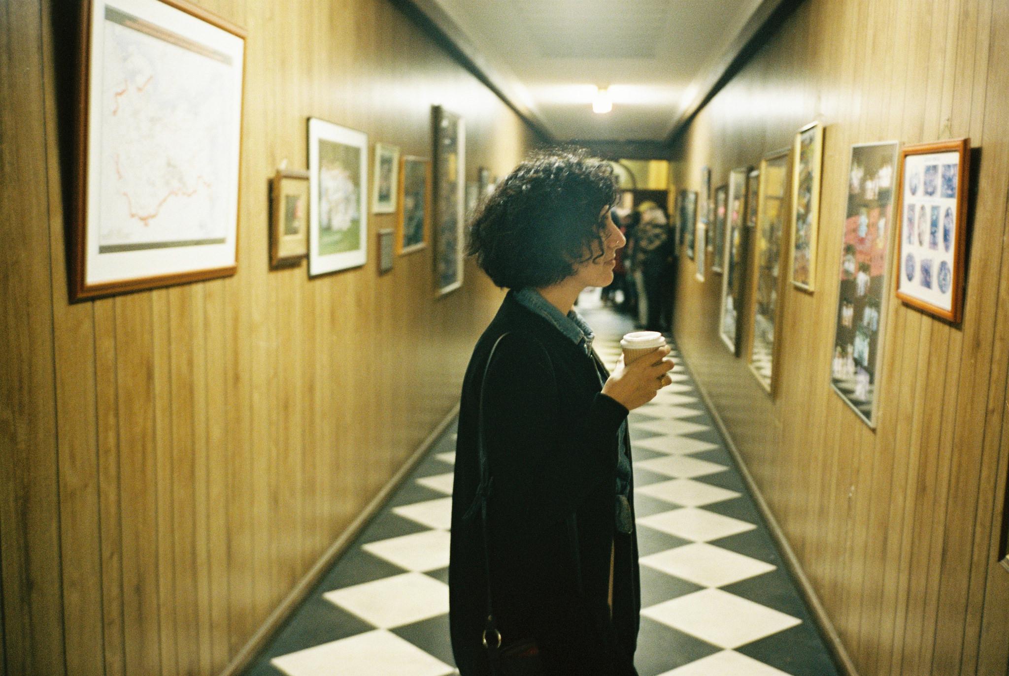 Hanging around hallways